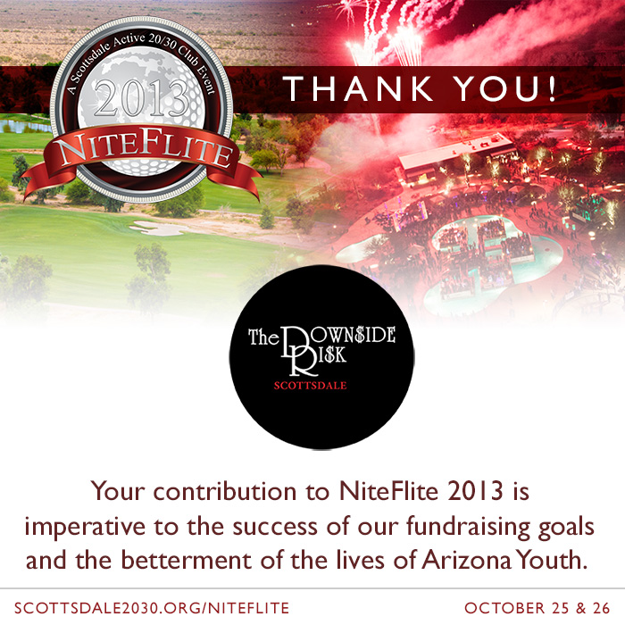 New NiteFlite 2013 Gala Partner – The Downside Risk