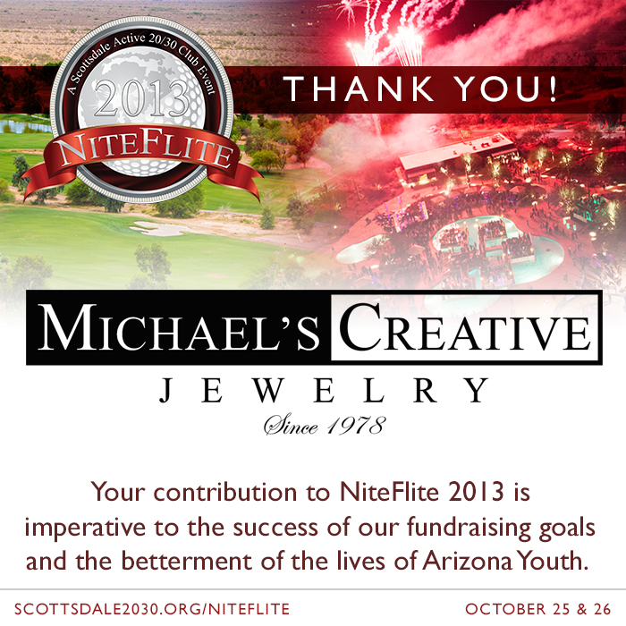 New NiteFlite 2013 Partner – Michael's Creative Jewelry