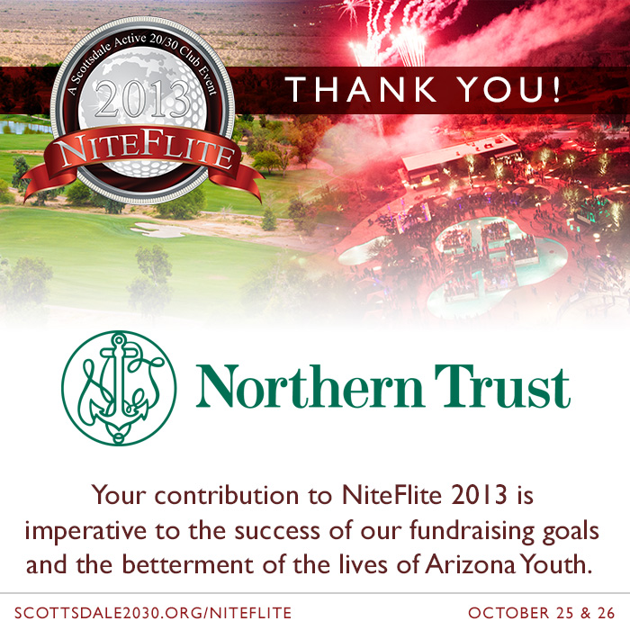 New NiteFlite 2013 Sponsor – Northern Trust Bank